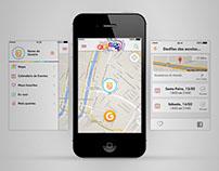 Globeleza app redesign