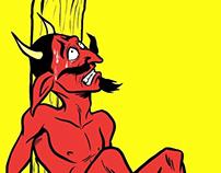 Quemémosle las patas al diablo