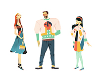 Fashion Paper Dolls
