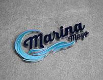 Marina Mayo Logo Tasarımı