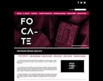 Layout Site Mestrado de Design Gráfico ESART