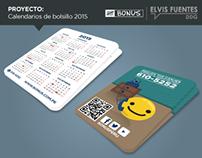 Calendarios 2015 // Bonus Perú