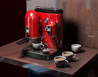 3d coffe machine