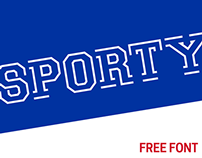 Sporty - Free Font