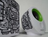 Monochrome : Custom Speaker