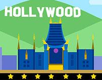 Drupal Los Angeles illustration