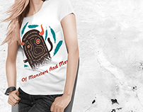 Of Monsters and Men - Fan Art T-shirt