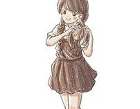 little girl~