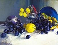 """""""MORNING"""" - Still life painting"""