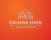 Zeykem Şeker Logo Tasarımı