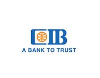CIB Egypt Brand Logo Bumper
