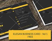 Elegan Business Cards Templates - Volume 1