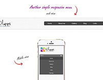 Some responsive Headers Design for mobile and web