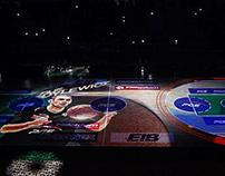 //PGE Zgorzelec Turów - Projection Mapping on Court//