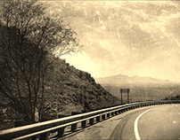 Santa Catalina Mountain Road View - Tucson, AZ
