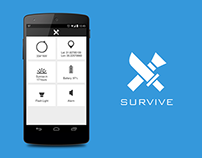 Survive App UI/UX Design