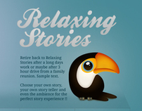 Relaxing Stories Website