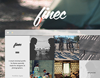 Finec - Theme for Photographers & Designers