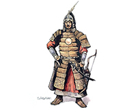 Mongol chieftain