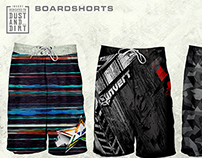 Boardshorts pattern design