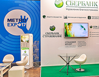 Exhibition stand for Sberbank Insurance