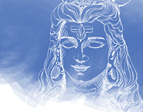 Shiva - Om Namah Shivaya Vector Illustration