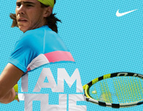 Nike Tennis posters: The Dubai Open