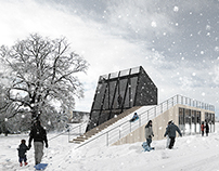 Information center, Gellerup, Aarhus, DNK (competition)