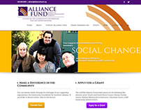 Alliance Fund Website- Design and Development