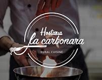 Hostaria La Carbonara Website