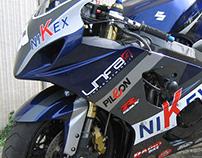 Nikex Suzuki GSX-R SuperStock Graphic Design 2006