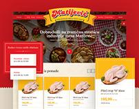 Meat Industry Matijević - Website Design
