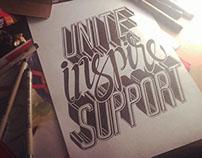 UNITE.INSPIRE.SUPPORT