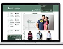 Tienda Online Valecuatro