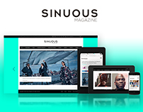 Creative Direction & Design for Sinuous Magazine