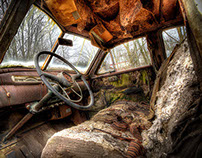 HDR - Car Graveyard