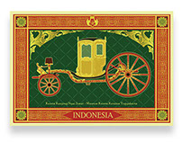 Postcards of Yogyakarta Royal Chariot Museum Part 1