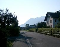 Austria - Jewel of Alps - Bludenz, county of Vorarlberg