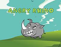 Game UI Design (Angry Rhino)
