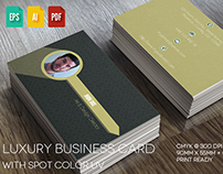 Luxury Business Card V4