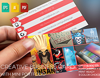 Single Creative Business Card V5