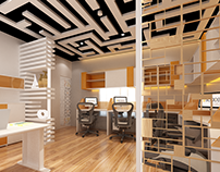 A SPACE DESIGN STUDIO | OFFICE INTERIOR