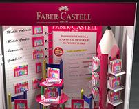 Faber Castell shop window Mondadori Duomo Milano