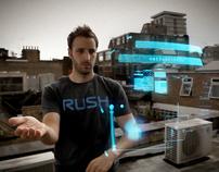 H.U.D. // Holographic 3D Interface
