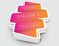 BRANDING // Evelien C. business cards