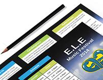 E.L.E Festival 2014 Branding Identity
