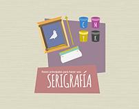 Infografía sobre serigrafía