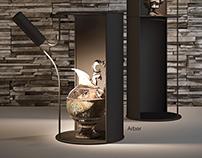 Arbor lamp