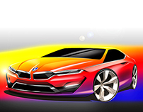 BMW 5 series coupe Conceptcar by Issam Trabelsi