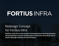 Redesign Concept  for Fortius Infra